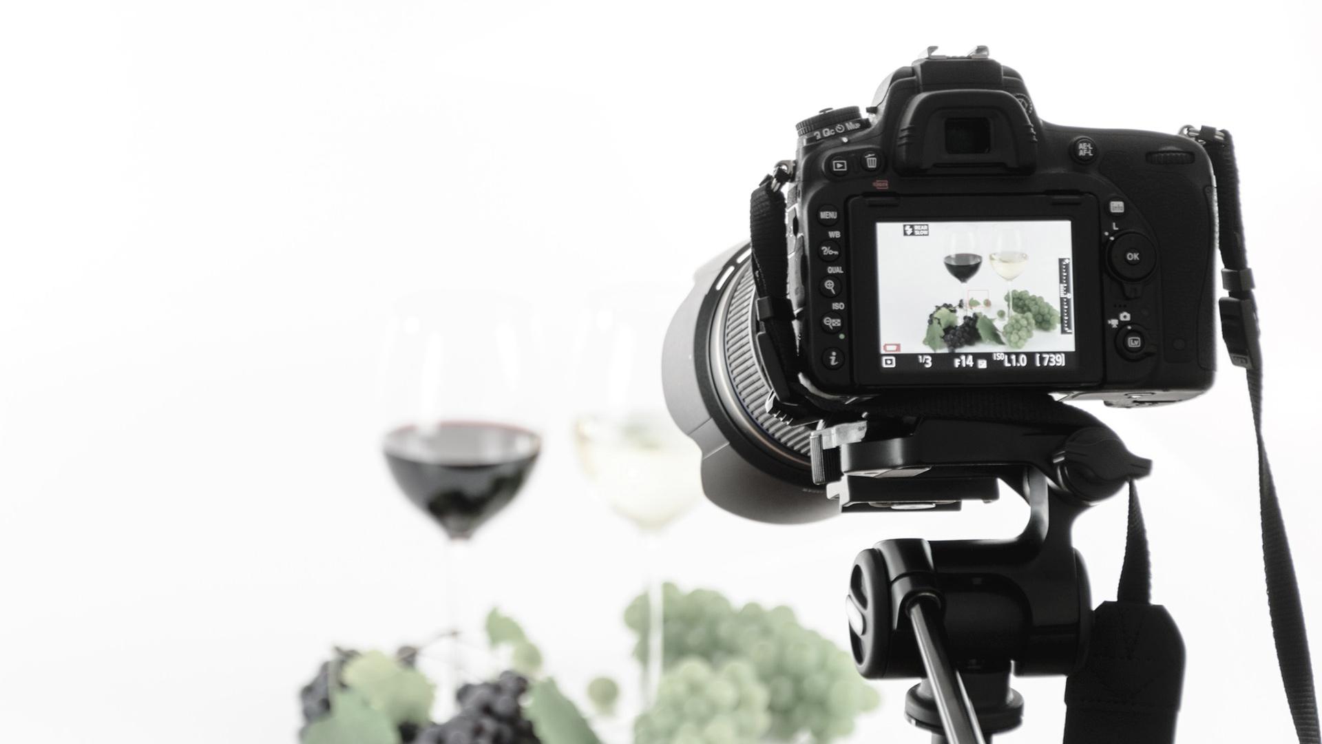 ホームページ制作のカメラ撮影